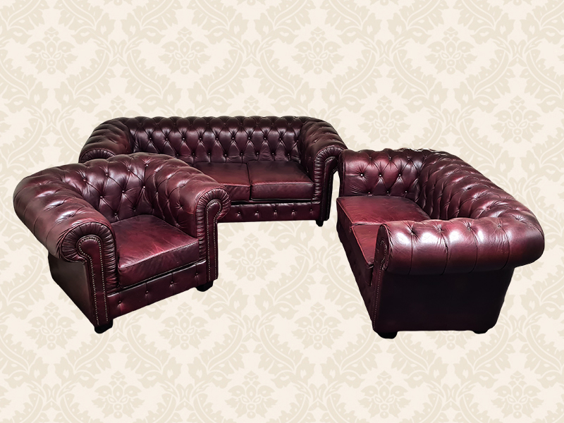 Chesterfield garnitura
